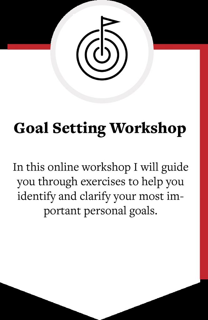 Goal Setting Workshop by Obu Ramaraj